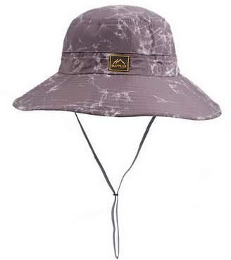 at Amazon Canada · Brcus Men Women Cotton Boonie Bucket Hat Large Brim  Fishing Summer Sun Hat Cap c8b4095cb79d