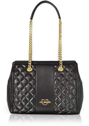 Love Moschino Quilted Eco Leather Shoulder Bag