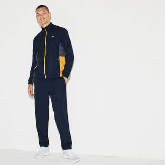 Lacoste Men's SPORT Piped Taffeta Tennis Tracksuit