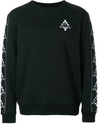 Marcelo Burlon County of Milan Kappa tapes sweatshirt