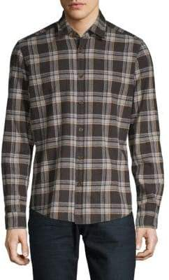 HUGO BOSS Lal 47 Regular-Fit Plaid Shirt