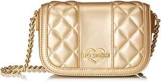 d5c986225 Love Moschino Borsa Quilted Metall.nappa Pu, Women's Shoulder Bag,6x12x17  cm (
