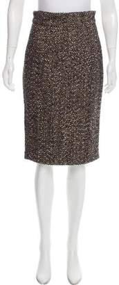 Paul & Joe Herringbone Tweed Skirt
