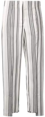 Jil Sander striped trousers