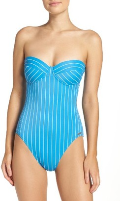 Women's Vince Camuto Underwire One-Piece Swimsuit $110 thestylecure.com