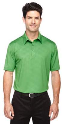 Ash City - North End Sport Red Men's Maze Performance Stretch Embossed Print Polo - VALLEY GREEN 448 - 3XL 88659