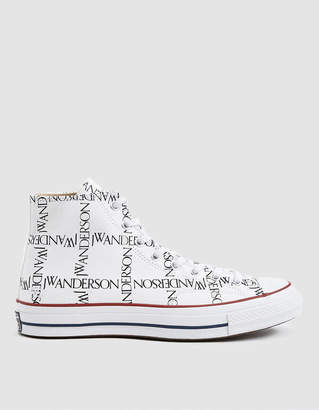 Converse J.W.A. Logo Grid Chuck Taylor 70 High Sneaker in White