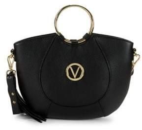 Mario Valentino Lily Round Top Handle Bag