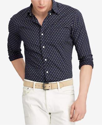 Polo Ralph Lauren Men's Printed Anchor Cotton Classic Fit Shirt