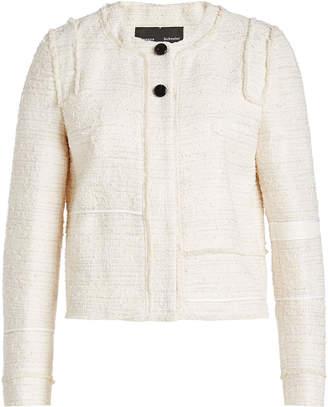 Proenza Schouler Boucle Jacket with Cotton
