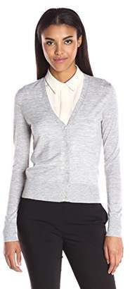 Theory Women's Cardigan Merino Wool Sweater