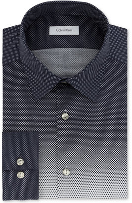 Calvin Klein Men's Slim-Fit Infinite Stretch Untucked Dress Shirt, Only at Macy's $79.50 thestylecure.com