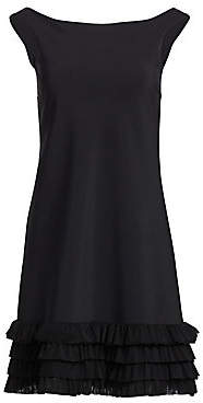 Chiara Boni Women's Rigmor Tiered Flounce Hem Cocktail Dress