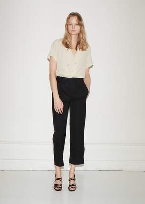 Vejas Cascading Wool Trousers