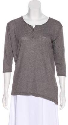 Xirena Long Sleeve Scoop Neck Top w/ Tags