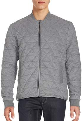 Sovereign Code Men's Sotelo Long Sleeve Quilted Jacket