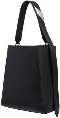 Calvin Klein Leather Hobo Shoulder Bag