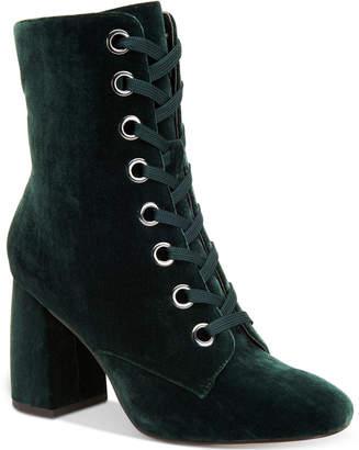 BCBGeneration Alexa Block-Heel Booties Women's Shoes