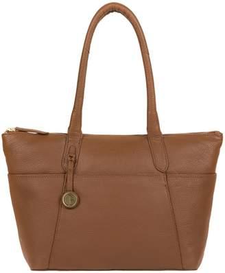 Eton Pure Luxuries London - Dark Tan 'Eton' Leather Handbag