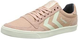 Hummel Women's Slimmer Stadil Herringbone Low-Top Sneakers