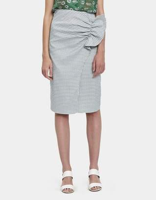 Farrow Adeleine Gathered Pencil Skirt