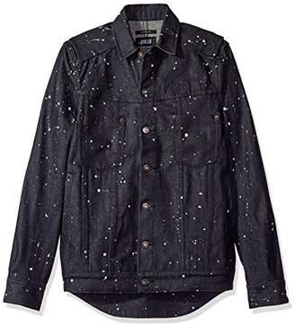 Publish Brand INC. Men's Koby Paint Splattered Button Down Shirt