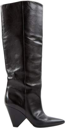 Saint Laurent Niki leather boots