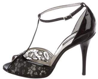 Dolce & Gabbana Patent Leather T-Strap Pumps