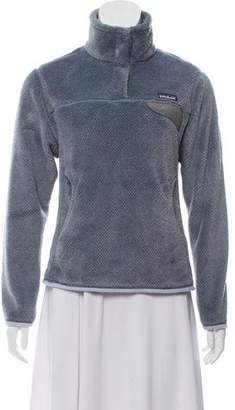 Patagonia Mock Neck Fleece Sweatshirt