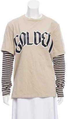 Golden Goose Crew Neck Long Sleeve Top