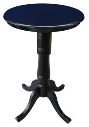 "INC International Concepts 30"" Round Top Pedestal Table, 40.9""H"