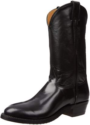 """Justin Boots Men's U.S.A. 12"""" Classic Western Boot Low Profile Round Toe,-Veal"""