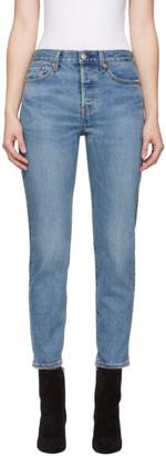 Levi's Levis Indigo Wedgie Icon Fit Jeans