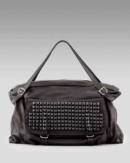 Tylie Malibu Rose Studded Shoulder Bag