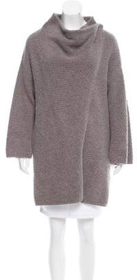 Elizabeth and James Angora-Blend Wrap Cardigan