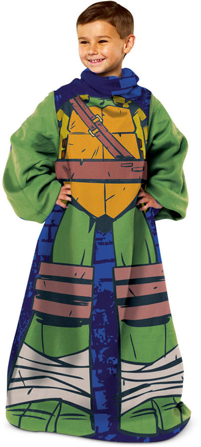 Nickelodeon Kids' Teenage Mutant Ninja Turtles Comfy Throw