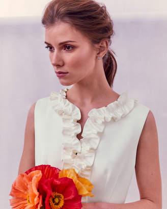 Ted Baker WINTHIA Ruffle bodice maxi dress