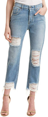 Seven For All Mankind 7 For All Mankind Josefina Vintage Wash 2 High-Rise Skinny Boyfriend Cut