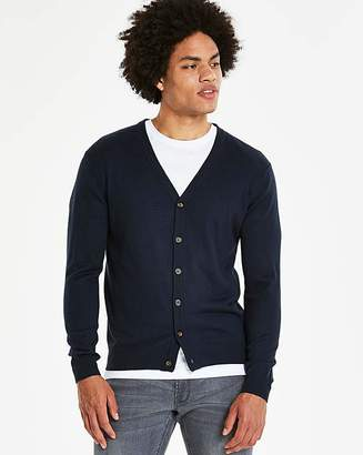 Capsule Navy Button Cardigan R