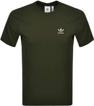 adidas Essential T Shirt Green