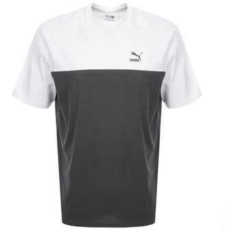 Puma Retro T Shirt In Grey