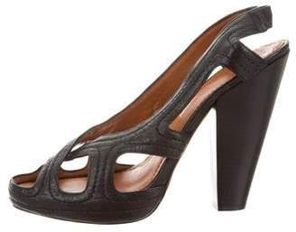 Givenchy Slingback Platform Sandals