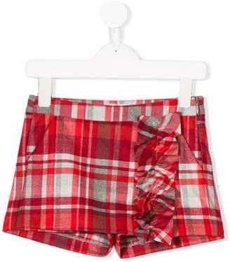 Il Gufo ruffled trouser-skirt