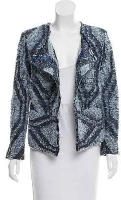 IRO Open-Front Tweed Jacket w/ Tags