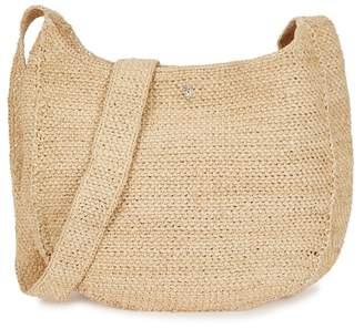 Helen Kaminski Rhode Sand Raffia Shoulder Bag
