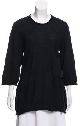 Issey Miyake Heart HaaT by Lightweight Longline Sweater