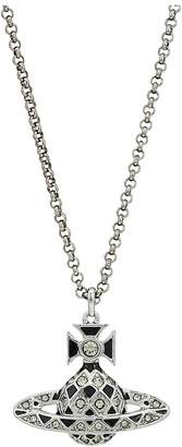 Vivienne Westwood Harlequin Bas Relief Pendant Necklace