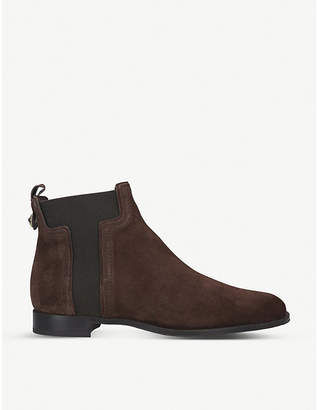 Tod's Tods T-gusset suede Chelsea boots