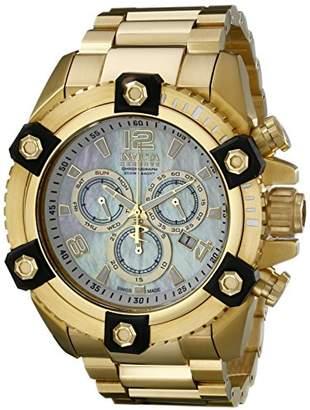 Invicta Men's 15828 Reserve Analog Display Swiss Quartz Gold Watch