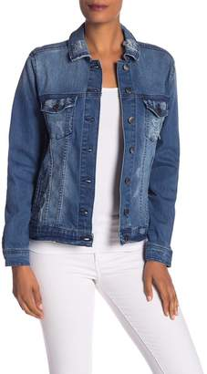 Rachel Roy Love Embellished Denim Jacket